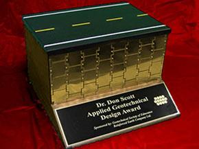 Dr. Don Scott – Applied Geotechnical Design Award